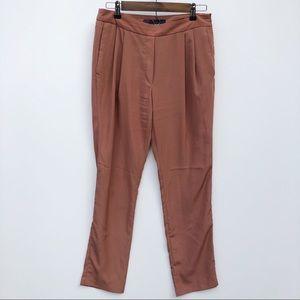 Zara Basic Burnt Orange Harem Pants size M